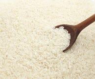 Verdura del vegetariano dell'alimento del cereale del riso bianco Fotografia Stock