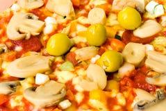 Verdura della pizza Fotografia Stock Libera da Diritti