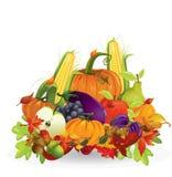 Verdura e frutta di autunno Immagini Stock Libere da Diritti