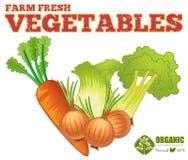 Verdura fresca dell'azienda agricola royalty illustrazione gratis