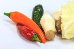 Verdura fresca per cucinare Immagini Stock Libere da Diritti