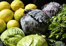 Verdura fresca per una dieta sana fotografia stock