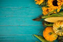 Verdura fresca sulla tabella Fotografie Stock Libere da Diritti