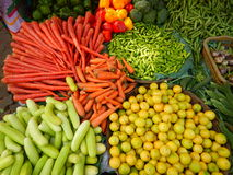 Verdura-Ii fresca dell'azienda agricola fotografia stock
