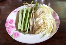 Verdura mezclada para el plato de la decoración Imagenes de archivo