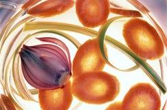 Verdura - minestra immagini stock libere da diritti