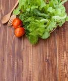 Verdura para la vida de la buena salud foto de archivo