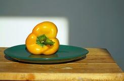 Verdura su un piatto Immagine Stock Libera da Diritti