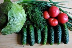 Verduras útiles para la pérdida de peso Fotos de archivo libres de regalías