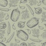 Verduras 3-02 stock de ilustración