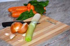 Verduras coloridas agradables Foto de archivo