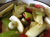 Verduras de la mezcla Fotos de archivo