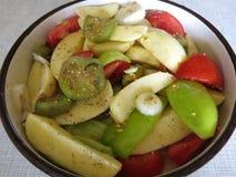 Verduras de la mezcla Fotos de archivo libres de regalías