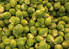 Verduras de las coles de Bruselas fotos de archivo