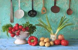 Verduras de Vairious Imagen de archivo libre de regalías
