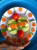 Verduras, decoración y arte culinario Fotografía de archivo libre de regalías