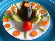 Verduras, decoración y arte culinario Imagenes de archivo