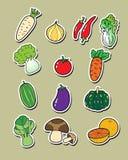 Verduras del dibujo a pulso Imagenes de archivo