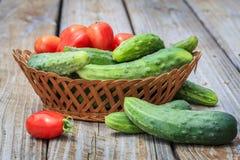 Verduras del jardín Fotos de archivo libres de regalías