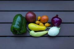 Verduras del verano Imágenes de archivo libres de regalías