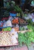 Verduras en el mercado cerca de Bangkok Imagenes de archivo