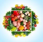 Verduras frescas. Foto de archivo libre de regalías