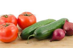 Verduras frescas Fotografía de archivo