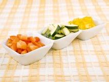 Verduras frescas - bocado sano Imagenes de archivo