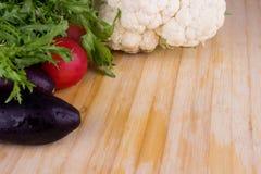 Verduras frescas clasificadas Foto de archivo libre de regalías
