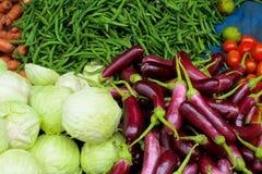 Verduras frescas de la granja Imagen de archivo libre de regalías