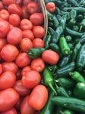 Verduras frescas de la granja Fotos de archivo libres de regalías