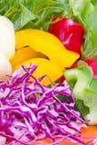 Verduras frescas de la mezcla. imagen de archivo libre de regalías