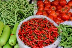 Verduras frescas de Maketing Imágenes de archivo libres de regalías