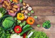 Verduras frescas del jardín imagen de archivo libre de regalías