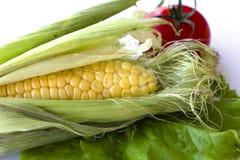 Verduras frescas determinadas con la hoja verde Fotografía de archivo libre de regalías