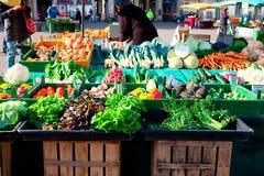 Verduras frescas en el mercado Fotografía de archivo