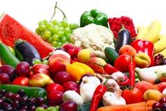 Verduras frescas, frutas Foto de archivo libre de regalías