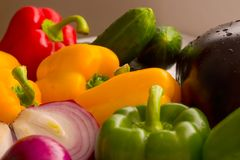 Verduras frescas II Foto de archivo