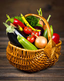 Verduras frescas, orgánicas foto de archivo
