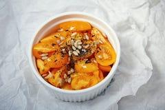 Verduras frescas orgánicas naturales de las vitaminas del tomate del salat Foto de archivo libre de regalías