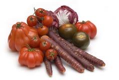 Verduras frescas rojas Imagen de archivo