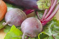Verduras frescas sanas Imágenes de archivo libres de regalías