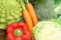 Verduras frescas sanas Imagen de archivo libre de regalías
