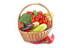 Verduras frescas y maduras Imagen de archivo libre de regalías