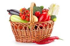 Verduras frescas y maduras foto de archivo