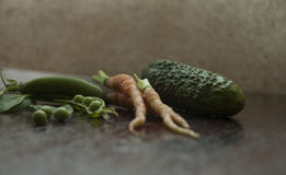 Verduras jovenes Foto de archivo libre de regalías