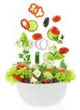 Verduras mezcladas frescas foto de archivo libre de regalías