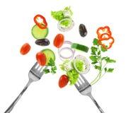 Verduras mezcladas frescas Imagen de archivo libre de regalías