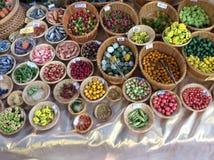 Verduras miniatura artificiales Imagen de archivo