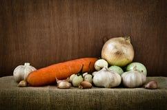 Verduras orgánicas Fotos de archivo